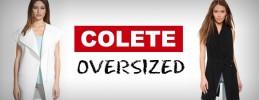 O que é colete Oversized?