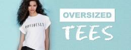 Oversized tees
