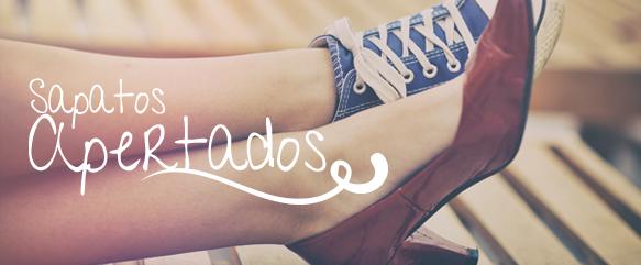 Sapatos apertados