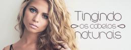Tingindo cabelos naturais